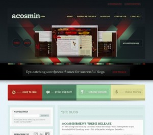 ALEXANDRU COSMIN | Dark Themed Web Design
