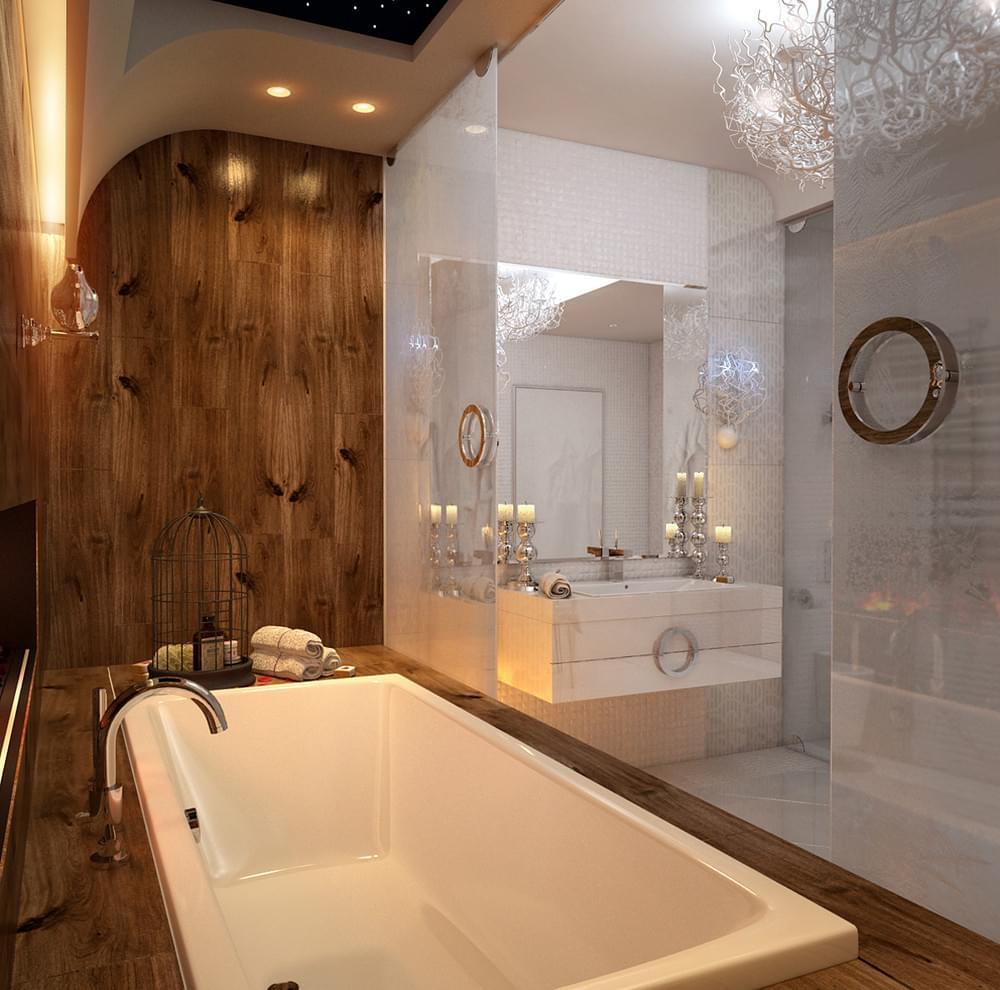 Glamorous Bath Tub