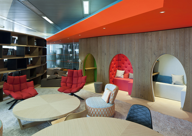Google's Super Cool New London HQ (Complete With Allotment On The 9th Floor) |