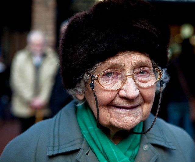 95 Years Old Lady – Photography of Emotion