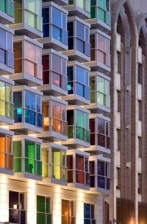 HESPERIA BILBAO HOTEL | that's a weird hotel!