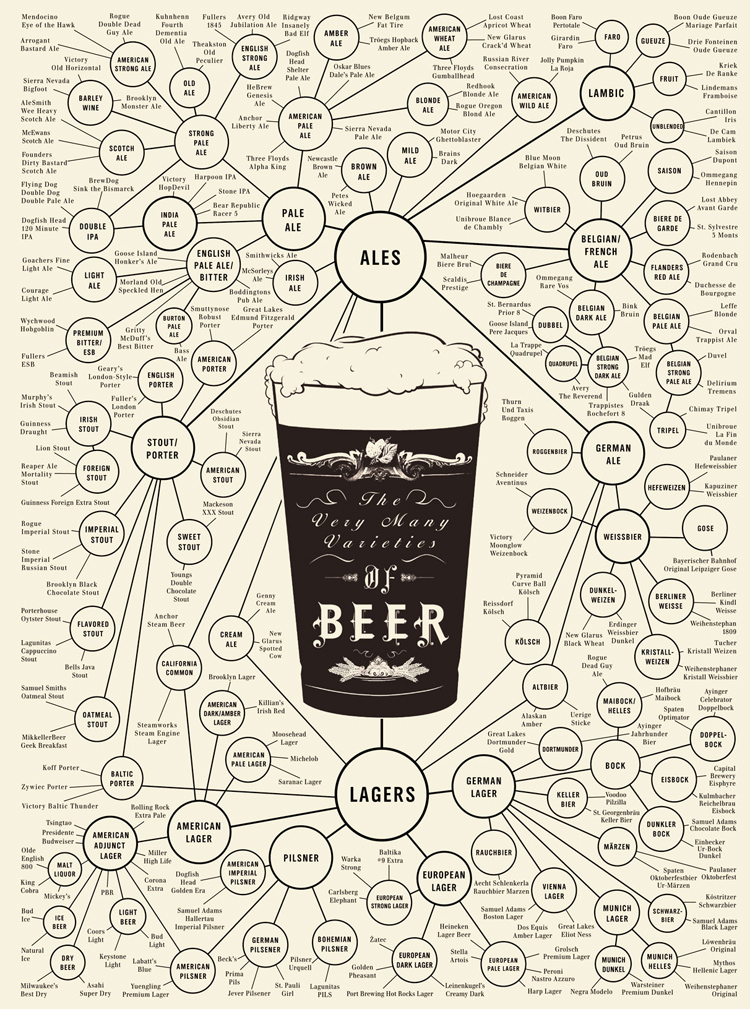 Infographic of the Day: Your Complete Guide to Beer | Co.Design | business + design