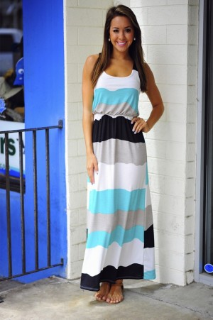 Maxi dress | The Tres Chic