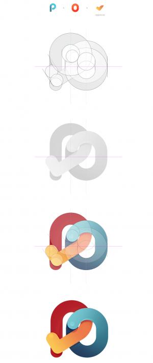 Mobile PO Approver Logo – Logo & Identity