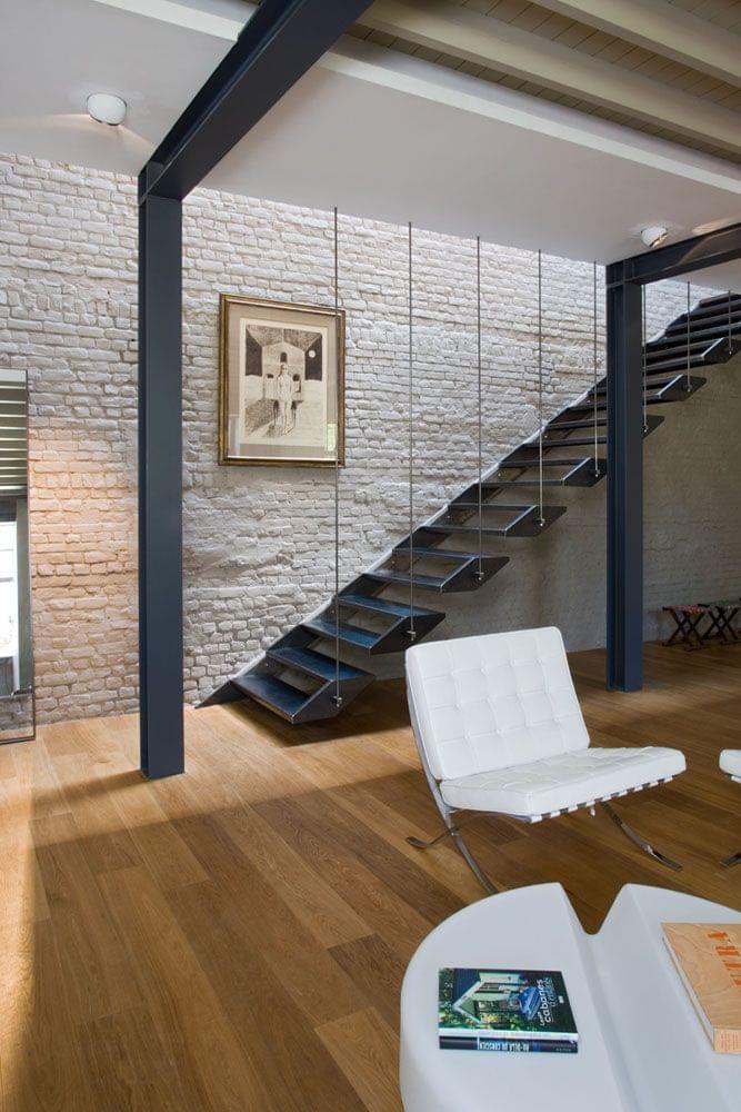 Franken House / Bekhor Architecte – Modern Stairs