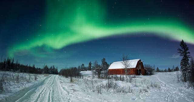 Northern Lights by Dave Brosha