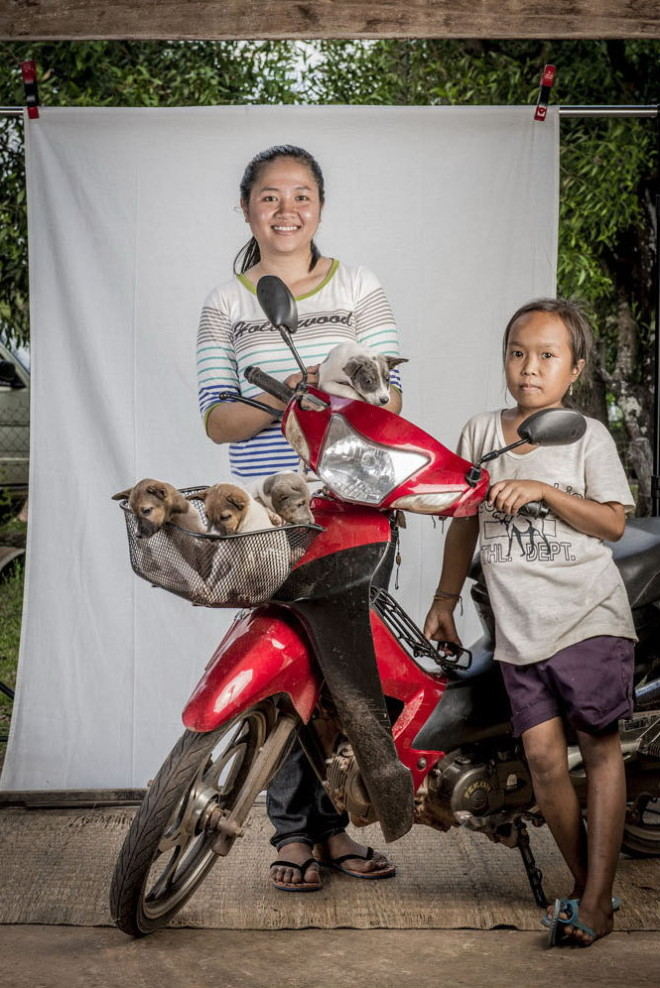 Pet owners of Laos by Ernest Goh