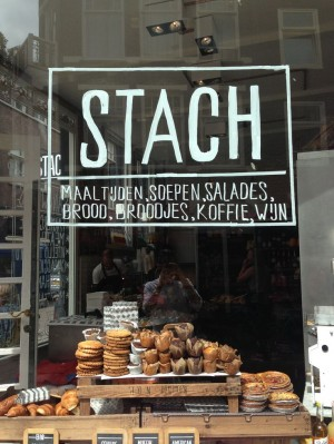 Stach sandwich shop and bakery, Amsterdam.