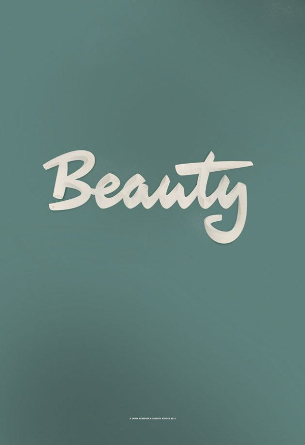 BEAUTY. A poster done with Laszlito Kovacs by Laura Meseguer