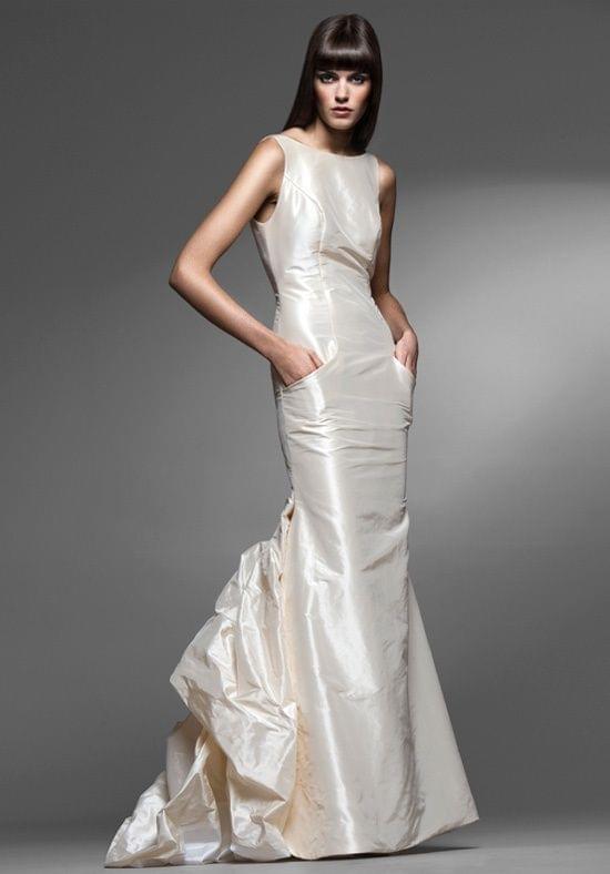 Silk Taffeta Wedding Gown |
