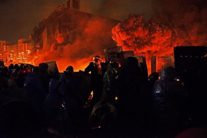 Ukraine Revolution by Alfred Yaghobzadeh