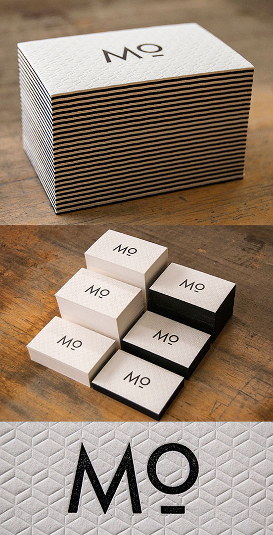 Unique Letterpress Business Card | Business Cards on Inspirationde