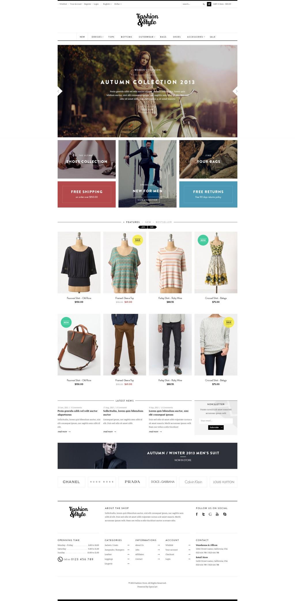 Ves Fashion Responsive Magento Theme