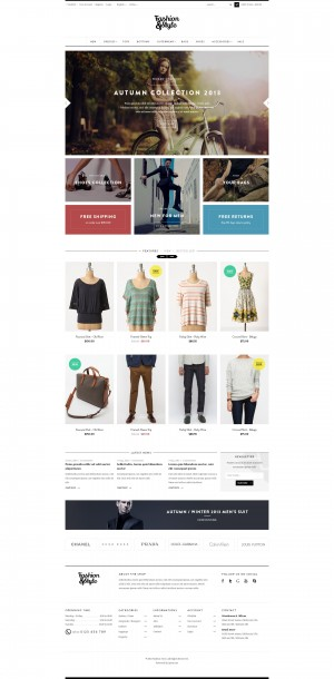 Ves Fashion Responsive Magento Theme