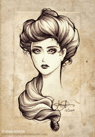 Victorian Woman by Sparkling-Dusk on deviantART