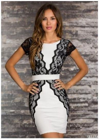 Vintage Lace DressMN-5773A