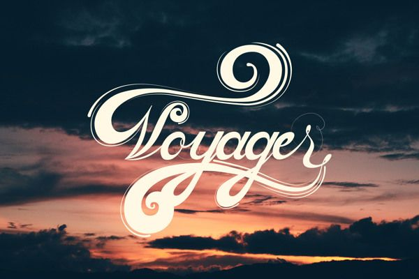 Voyager by Pellisco on Typographyserved