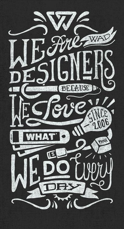 We Are Designers by Javi Bueno