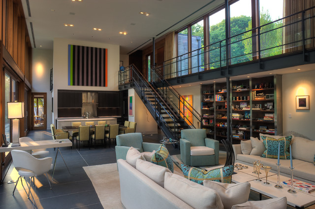 Woodvalley House – Contemporary Family room