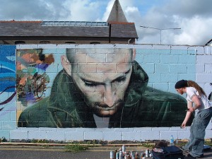 Work in progress   Street Art