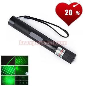Puissance : 3000mw Couleur du laser : vert Couleur du corps :noir Dimension : 25mm*155mm Poid ...