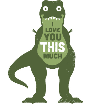Amourosaurus Art Print by David Olenick