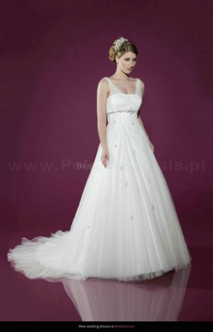 style 359.00 – Benjamin Roberts 2414 Wedding Gown,ball gown combines taffeta and lace beau ...