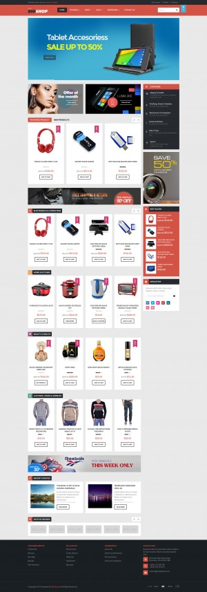 Ves Bigshop Store is Responsive and elegant Magento Theme. The clean and modern design allows yo ...