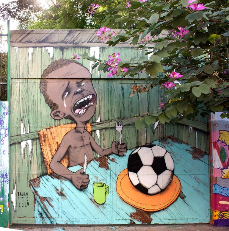 Brazil's Issues With the World Cup in One Painting