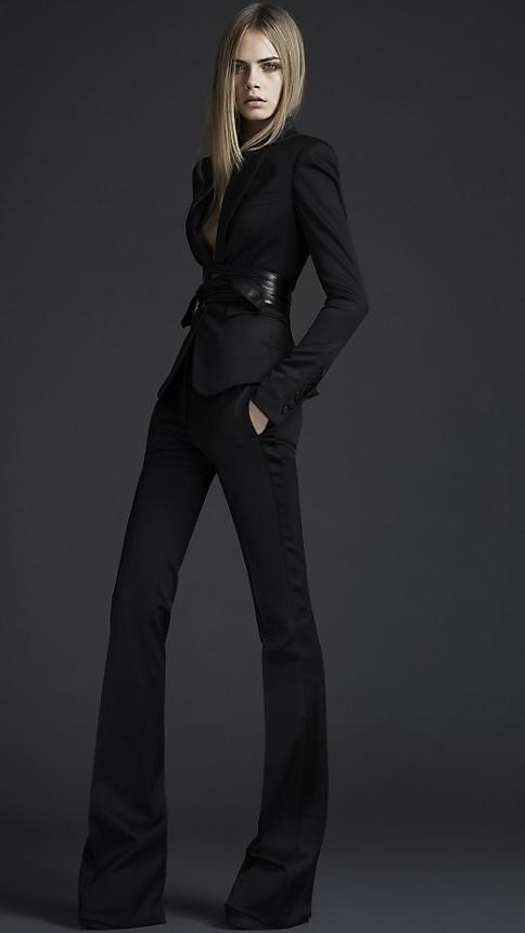 Burberry — Classic black suit | + S t e e z + | Pinterest