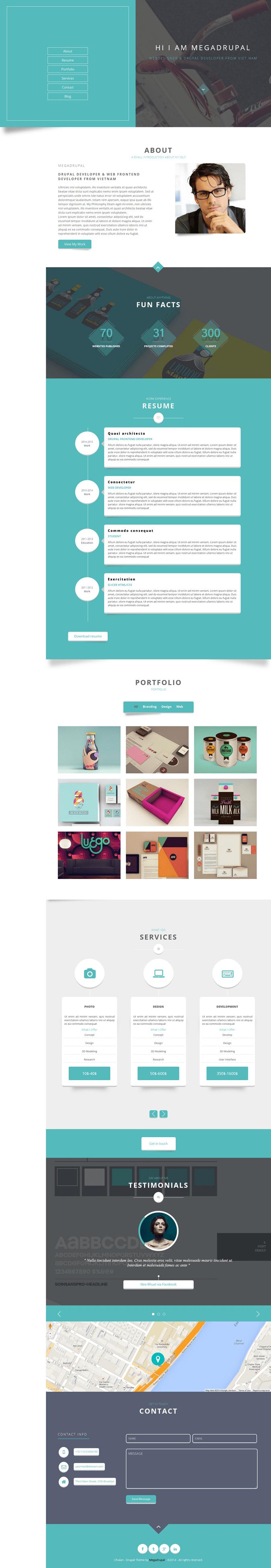 Chulan is a fully Responsive, Flat, Minimalist, Professional & Multipurpose v Card theme bui ...