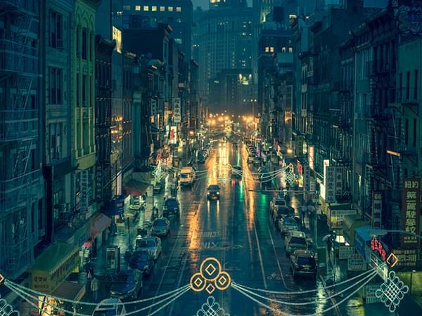 Chinatown series by Franck Bohbot