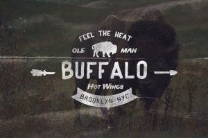 Buffalo Hot Wings logo template – Creative Market