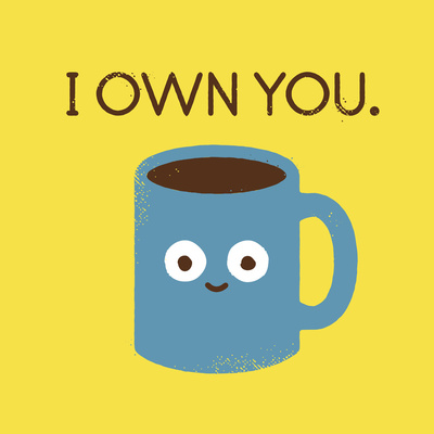 Coffee Talk Art Print by David Olenick