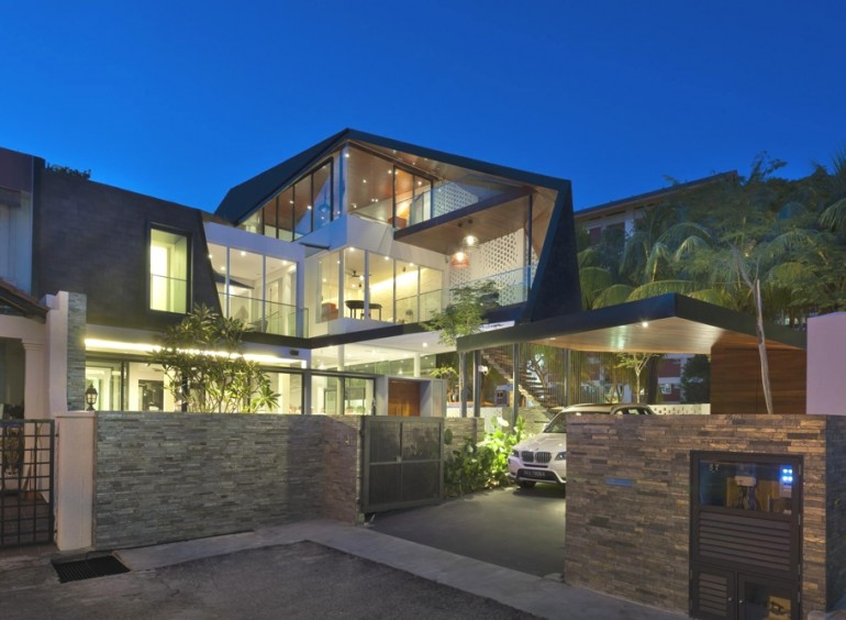Contemporary 67 Jalan Binchang residence by A D Lab