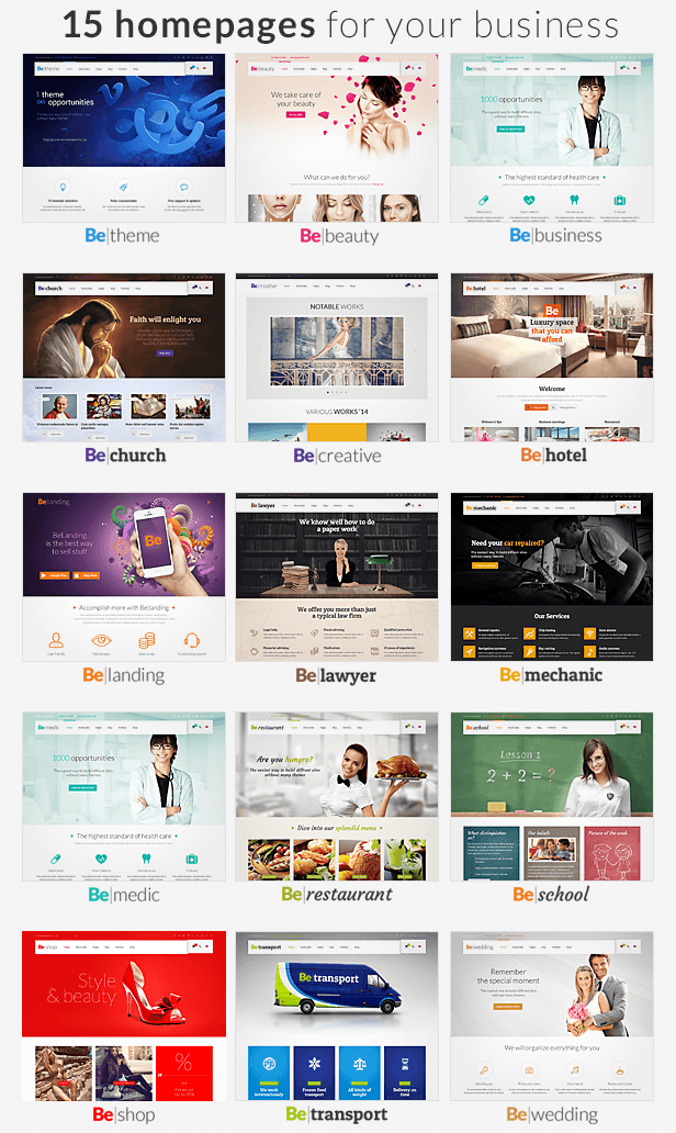 BeTheme is the best product we ever did. This is more than just WordPress theme. Such advanced o ...