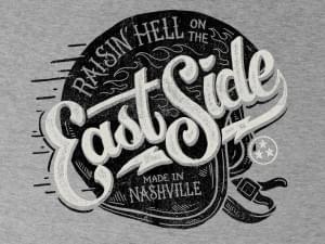 East Side – Tee Design by Derrick Castle