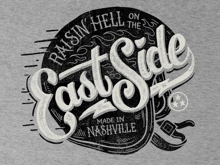 East Side – Tee Design by Derrick Castle