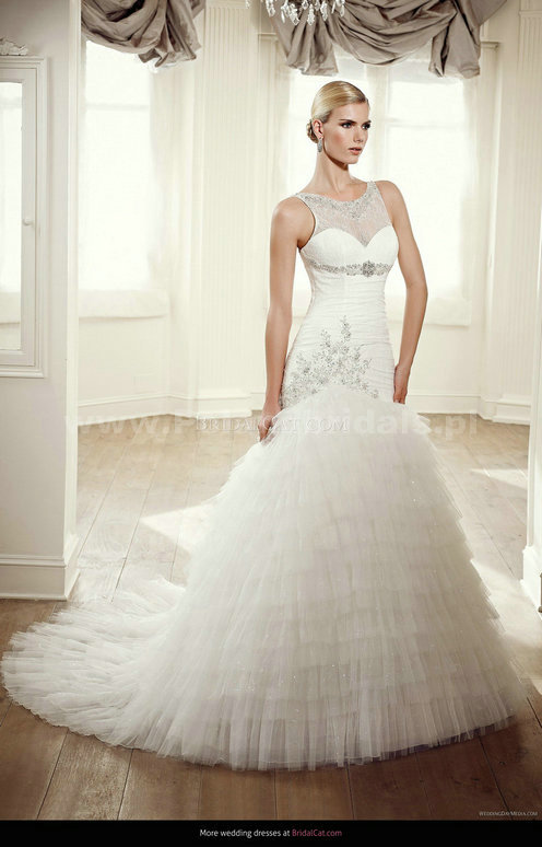 style 348.00 – Elianna Moore EM 1229 Wedding Gown,Simplistic styling within this strapless ...
