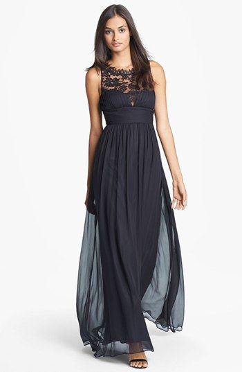 embellished lace and silk gown #prom | Wedding – MOB | Pinterest