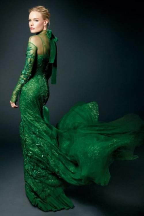EMERALD CITY :  Emerald Green Dress kate bosworth emerald green Socialbliss