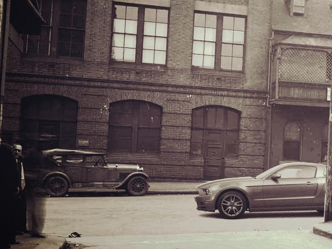 Ford Mustang in the 20'sIn December, Ford is unveiling a redesigned version for 2015, th ...