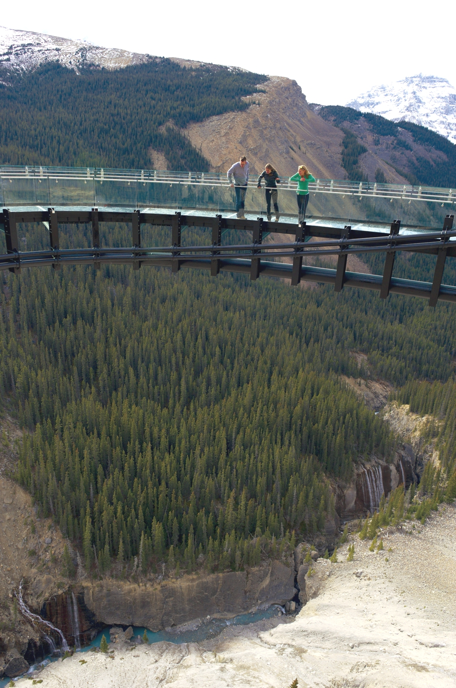 Stand in the sky with Canada's awesome Glacier Skywalk