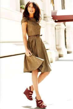 Glamorous sleeveless A-line dress | Fashion | Pinterest