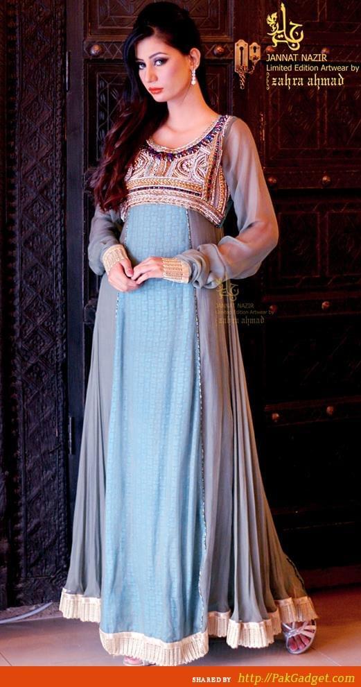 Jannat Nazir Eid Girls Fashion Wear 2013 | Gul Ahmed, Firdous Lawn, Sana Safinaz, Swiss Lawn
