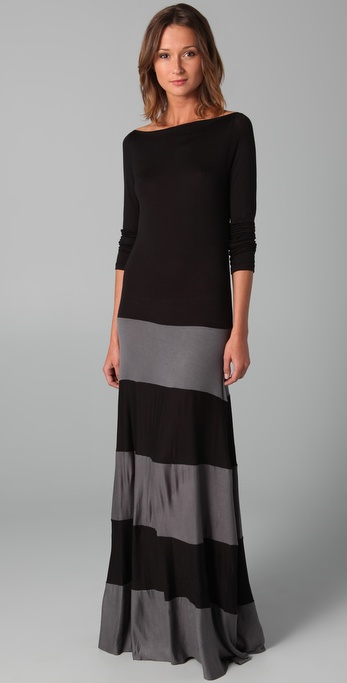 Karina Grimaldi Biscot Long Sleeve Dress | SHOPBOP