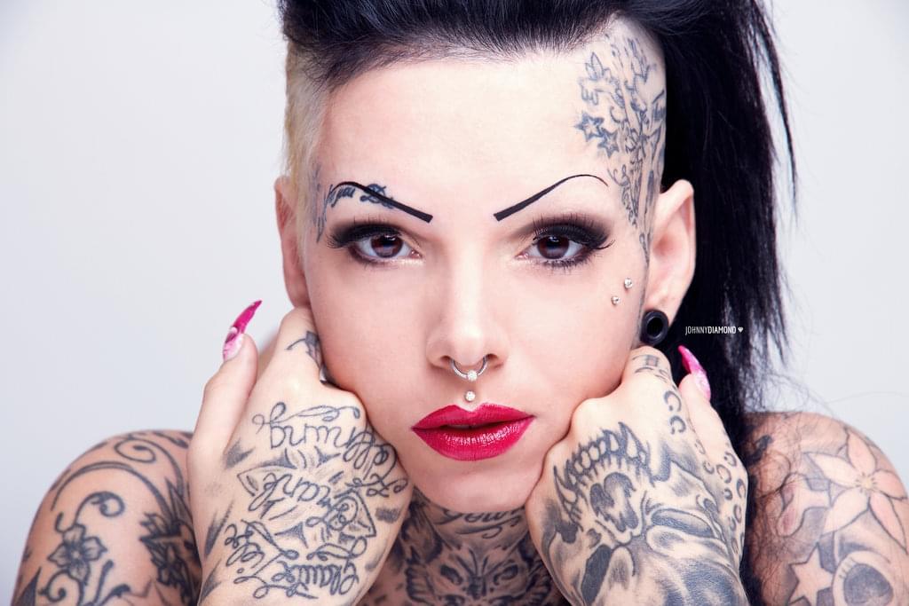 Lady Tattoo Cat By Johnnydiamond On Inspirationde
