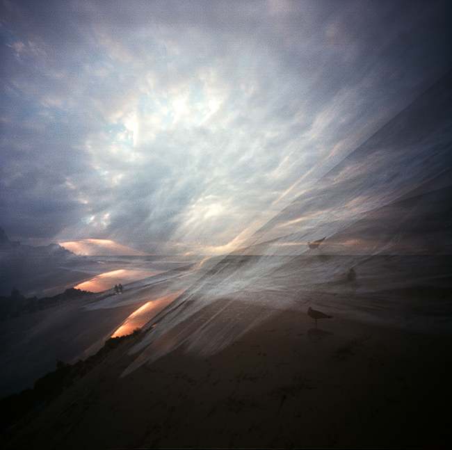 pinhole sunset by Novemberkind (Larissa Honsek)
