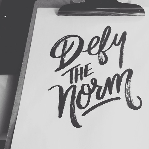Defy the norm!