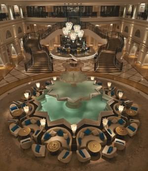 Luxury interior design for Waldorf Astoria